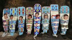Baby Boards from Native Traditions Native American Children, Native American Artwork, Native American Quotes, American Indian Art, Native American Tribes, Native American History, Native Quotes, American Symbols, American Traditional