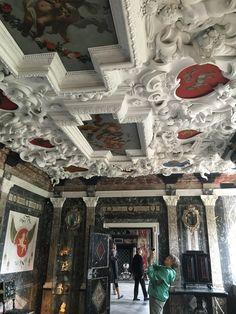 3. august 2016 Rosenborg slot Smukke lofter
