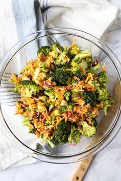 Broccoli Salad with Honey Mustard Dressing