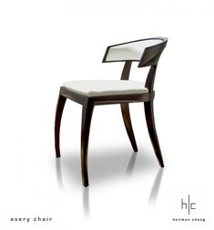 The perfect balance of masculine and feminine--perfect for my home Hellman-Chang - Avery Chair 05