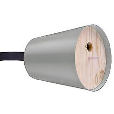 Piep Show Home Birdhouse by Radius | aluminum and wood. in 4 colors. lashing strap will not damage tree.