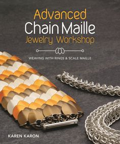 """Read """"Advanced Chain Maille Jewelry Workshop Weaving with Rings and Scale Maille"""" by Karen Karon available from Rakuten Kobo. Chain maille patterns and weaves that take jewelry design into new frontiers! Jewelry artists will enjoy a collection of. Wire Jewelry, Beaded Jewelry, Jewlery, Shell Jewelry, Silver Jewelry, Jewellery Shop Design, Handmade Jewellery, Diy Schmuck, Jewelry Making Tutorials"""