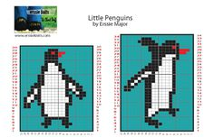 Erssie - Knitting Charts - Little Penguin Charts