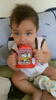 João Gabriel,  o bebê.  Meu afilhado