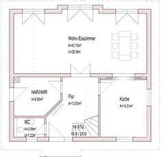 Einfamilienhaus grundriss ohne keller  Kern-Haus Bauhaus Etos Grundriss Obergeschoss | Bauen | Pinterest ...