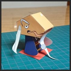 Yo-Kai Watch - Yametaishi Free Paper Toy Download - http://www.papercraftsquare.com/yo-kai-watch-yametaishi-free-paper-toy-download.html