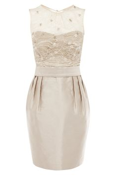 Mother of the Bride champagne dress