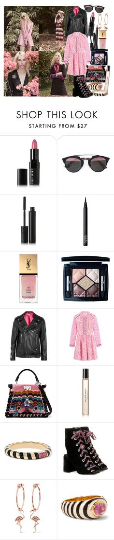 """""""She sprouted love like flowers, grew a garden in her mind, and even on the darkest days, from her smile the sun still shined"""" by brownish ❤ liked on Polyvore featuring Bobbi Brown Cosmetics, Kjaer Weis, NARS Cosmetics, Yves Saint Laurent, Christian Dior, Gucci, Fendi, Byredo, Alice Cicolini and Prada"""