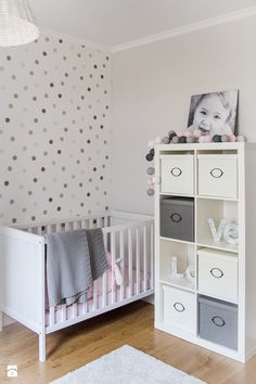 Bedroom: Grey Wall Design Baby Nursery Ideas Above Large Soft Carpet Floor Have Some Doll On Baby Room from Realizing Baby Nursery Ideas on Budget Baby Boy Rooms, Baby Bedroom, Baby Room Decor, Baby Boy Nurseries, Nursery Room, Girls Bedroom, Baby Girls, Ikea Baby Room, Bedroom Decor