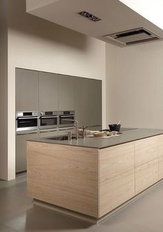 Minimal Kitchen Design Inspiration is a part of our furniture design inspiration series. Minimal Kitchen design inspirational series is a weekly showcase Luxury Kitchen Design, Luxury Kitchens, Interior Design Kitchen, Modern Interior Design, Home Kitchens, Modern Kitchens, Contemporary Kitchens, Interior Architecture, Kitchen Modern