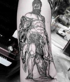 arm tattoo hercules