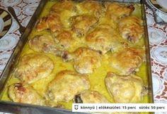 Mustáros-fokhagymás mártásban sült csirkecombok http://www.nosalty.hu/recept/mustaros-fokhagymas-martasban-sult-csirkecombok