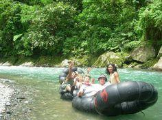 Bukit Lawang, Indonesia: Tubing in the national park