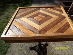 DIY Pallet Table Tutorial                                                                                                                                                                                 More