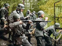 German soldiers in Poland 1939