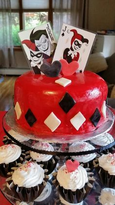 Harley Quinn Party Decor Party Ideas Pinterest Love