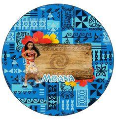 Molde para Latinha Moana