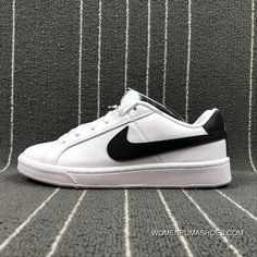 fc01104b6431f1 NIKE COURT ROYALE SL 844802-100 White Black Outlet
