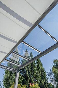 terrassenüberdachung mit sonnenschutz, terrassendach, vordach Gate, Outdoor Decor, House, Decks, Laundry, Home Decor, Terrace, Glass Roof, Porch Roof