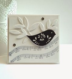 Papertrey Ink Songbird stamps and dies
