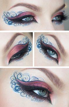 Creative makeup – Marine