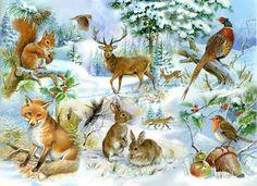 Diamond embroidery winter scenery Rhinestone painting Home Decor DIY Diamond painting fox cross stitch patterns diamond art Forest Animals, Woodland Animals, Up Theme, 5d Diamond Painting, Drawing Skills, Wildlife Art, Easy Paintings, Art Forms, Jigsaw Puzzles