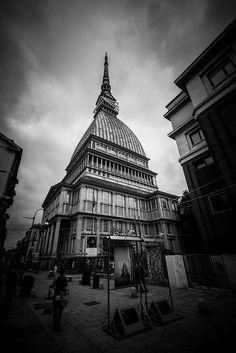 Torino in bianco e nero by Massimiliano_78, via Flickr