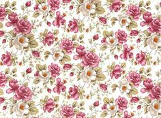 """Beautiful pink rose all over design. Roses measure approximately 1"""" each. Order # Sheet Size Sheet Metric Sheet Price 3122 18 1/4"""" X 26 3/4"""" 50 X 70 cm $31.50 Ceramic Waterslide Decals Suitable Applic"""