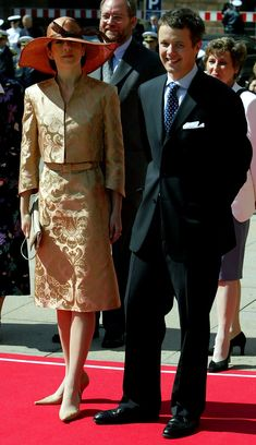 13 May 2004   A day before the wedding Mary Donaldson, crown prince Frederik and their families attended an official reception at the Danish...