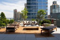 Your own city park getaway on the roofdeck