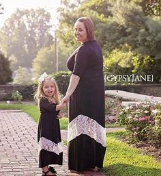 How adorable is this mommy and me photo??? Dresses from Be Inspired Boutique