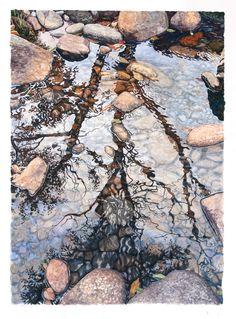 Saranac Lake watercolor artist Tim Fortune