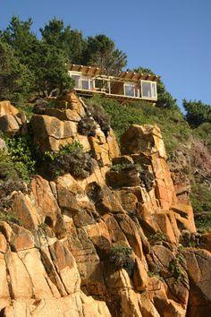 House on a Cliff, Buchupureo, VIII Region, Chile
