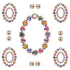 Gleaming jewelry