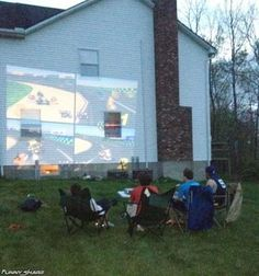 Gaming Like A Boss I would do this but once it gets dark out... I've almost puled it off