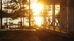 FInd holiday cottages in Finland. Find cottage rentals, log cabins & lakeside villas to rent. Holiday cottage rentals in Finland for families. Monuments, Finnish Sauna, Lake Cottage, Midnight Sun, Europe, Lake Life, Best Cities, The Fresh, Countryside
