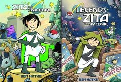 Zita the Space Girl: delightful kids' science fiction comic that's part Vaughn Bode, part Mos Eisley Cantina