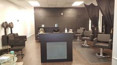 Our new salon, almost completed.  Oster's Shear Perfection Salon