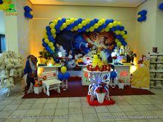 Decoração festa Bela e a Fera Birthday Candles, Image, Kid Birthdays, Custom Art, Beauty And The Beast, Birthday Cakes, Ideas, Weddings