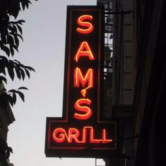 Sam's Grill (374 Bush St.) san francisco http://www.georgiapapadon.com/the-12-legendary-san-franscisco-restaurants-bars-you-can-still-celebrate-the-summer-of-love/