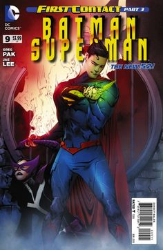 First Contact Event: Batman/Superman #9 – spoiled