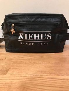 bb87fe6797 NWT Kiehls toiletry bag in PVC black.