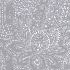 Moda Half Moon Modern Fabric, Paisley Steel Grey... wrap skirt with a coordinating bias tape coming soon to my hips.