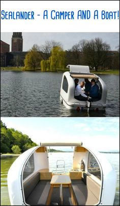 Go Camping or Boating or Both with your Sealander!