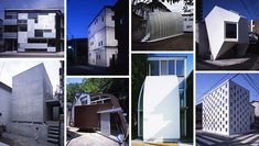 this japanese little houses can show up in any corner designed by urban architecture atelier tekuto