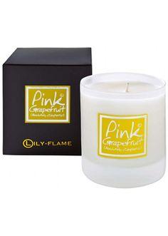 Lily Flame Pink Grapefruit Jar Candle