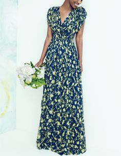 J.Crew Claire silk chiffon dress in floral. To preorder call 800 261 7422 or email erica@jcrew.com.