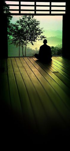 "♥ Want To Transform Your Life? Sit In Silence. ""Silence is a source of great strength."" Lao Tzu"