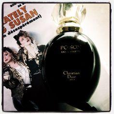 -Poison? -Now you can dance!  #parfum du jour #Dior #vintage #RevisiterLesAnnées80 #scent of the day #BackToThe80s