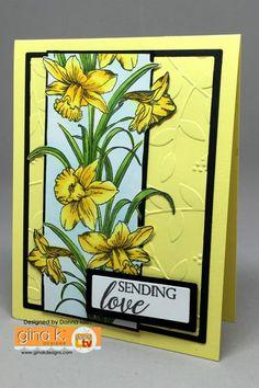 Splitcoaststampers FOOGallery - Sending Love - Daffodils
